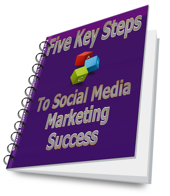 Transparent Five Key Steps to SM Marketing Book Cover